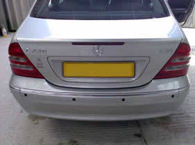 Slade Auto Electrical Reverse Sensors installation